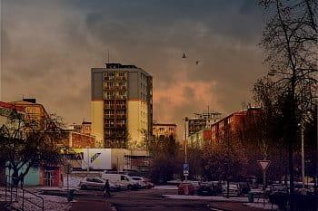Chodov, město z paneláků