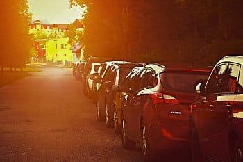 Ulice v pozdním odpoledni