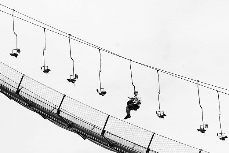 Na lanovce