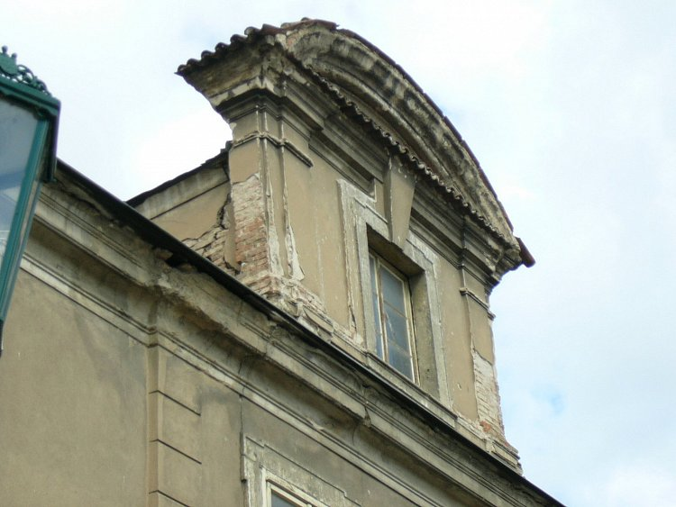 Starý dům,staré okno