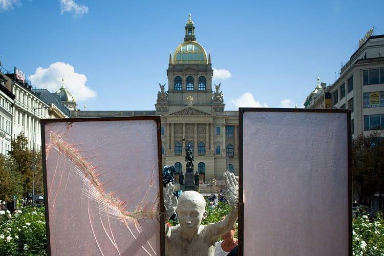 Na Václavském náměstí