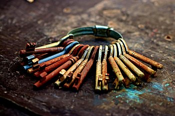 staré klíče