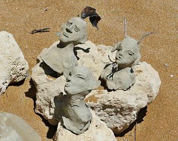 Umění na pláži
