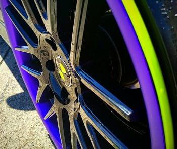 Purple - Green