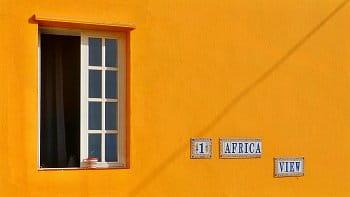 Dům s vyhlídkou na Afriku