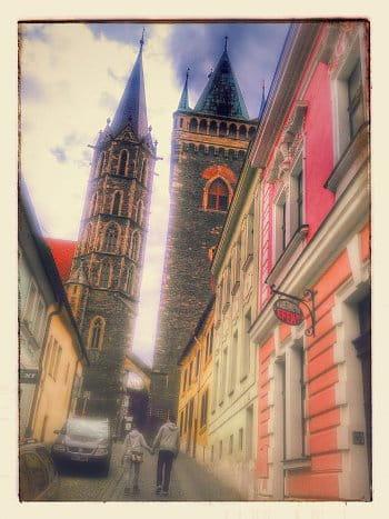 Procházka v Kolíně