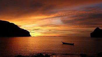 Západ slunce na Koh Phi Phi