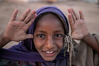 Dívka z Indie