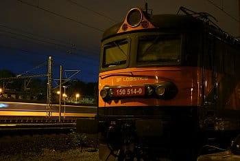 Noc nad stanicí