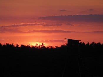 Čarodějný západ slunce.