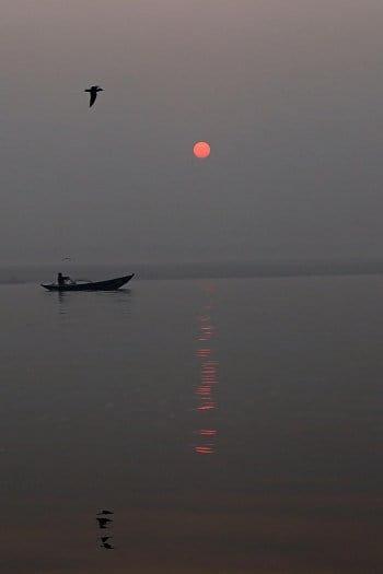 Magické ráno na řece Ganze