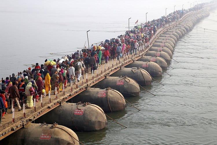 Na cestě za lepšími zítřky (Kumbh Mela 2019)