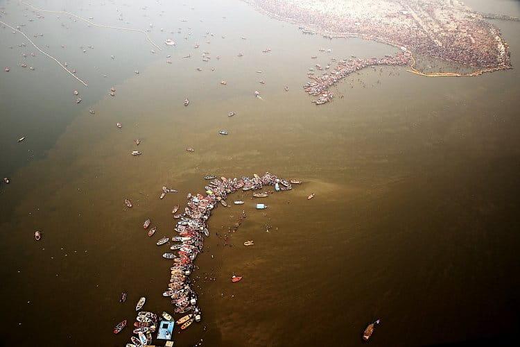 Na soutoku řek Gangy a Jamuny (Kumbh Mela 2019)