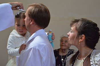 Svátost křtin