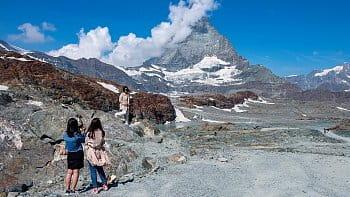 Selfie u Matterhornu