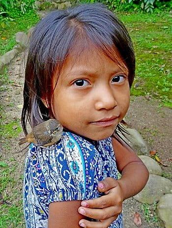 Mláďatá, Puyo, Ekvádor