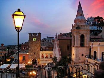 Taormina - Sicílie