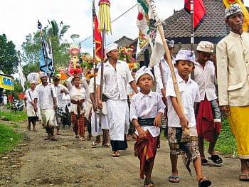 Lidé na Bali