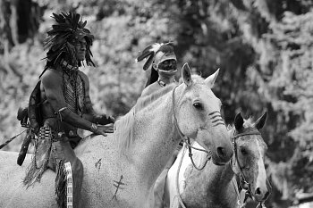 indiáni na Vochtánce
