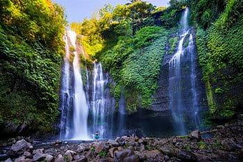 Vodopády Sekumpul - Bali