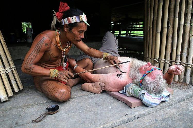 Tetování od šamana