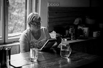 Odpolední siesta u knížky