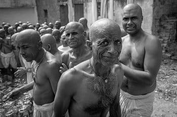 Kumbh Mela...mnich z Nepálu