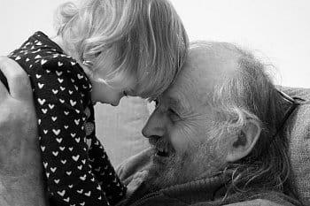 Dědečkovo štěstíčko.