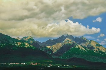 Krásné i hrozivé Tatry