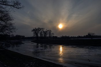 Zamrzlá Morava, Uherské Hradiště