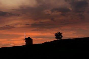 Podvečer u mlýna