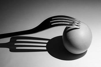 Vidlička a vajíčko