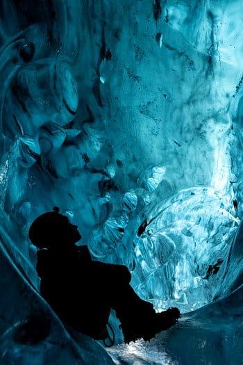 V srdci Ledovce Vatnajökull