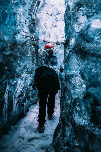 Ledové bludiště v srdci Vatnajökull