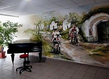 folklorní salonek