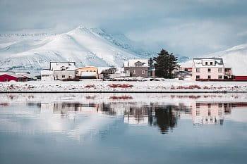 Ikonické Islandské městečko Höfn