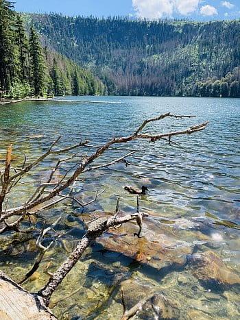 Čertovo barevné jezero