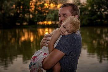 Táta a dcera...