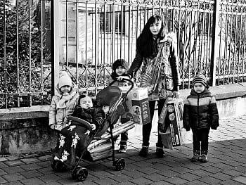 máma a její čtyři malé poklady