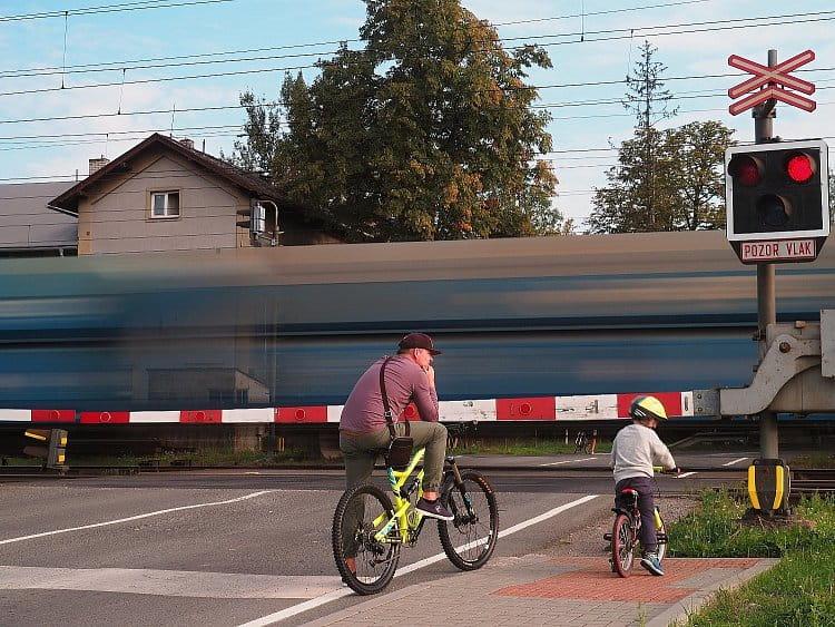Malý a velký cyklista
