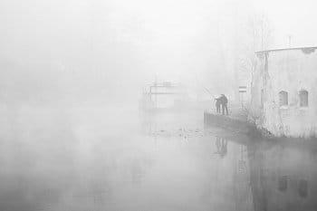 Rybáři na Ohři