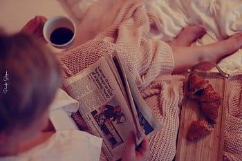 Teplo ranní postele