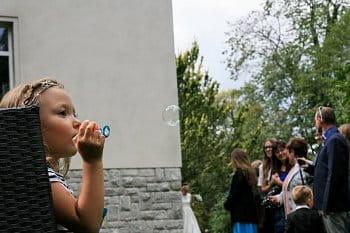 bublinka pro nevěstu