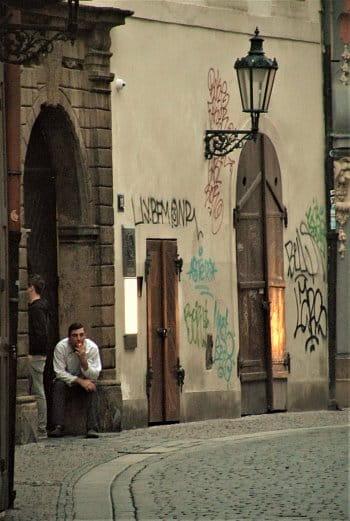 V centru Prahy