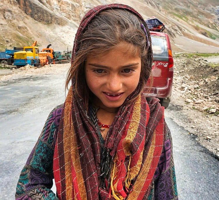 dívka z hor