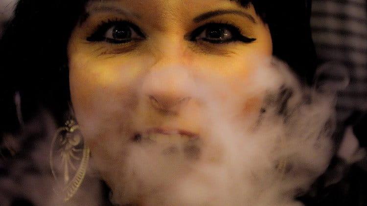 kouřící Kleopatra