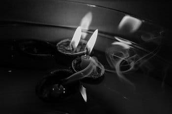 tanec umírajících svíček
