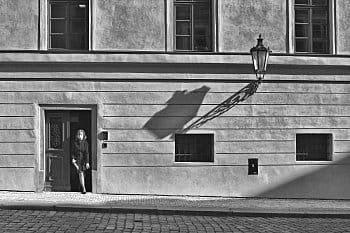 Praha & lampa