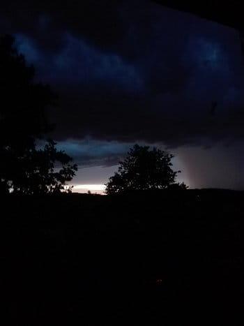 Bouřkové stmívání
