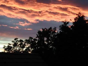Ohnivé mraky
